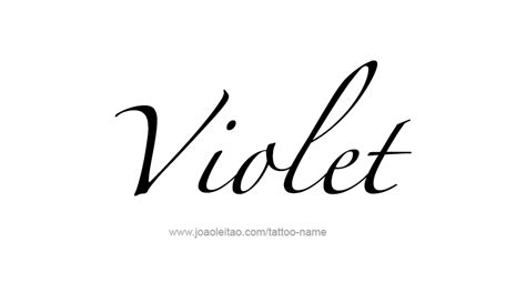 tattoo name viola violet color name tattoo designs page 2 of 5 tattoos