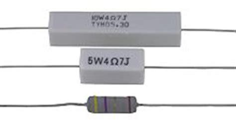 ceramic resistor calculator resistors