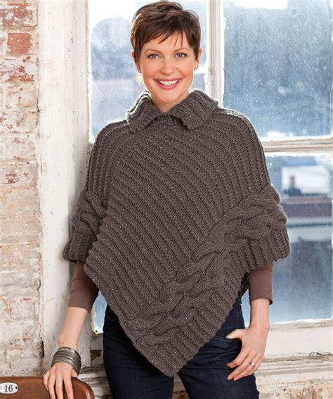 knitted poncho for poncho knitting patterns a knitting