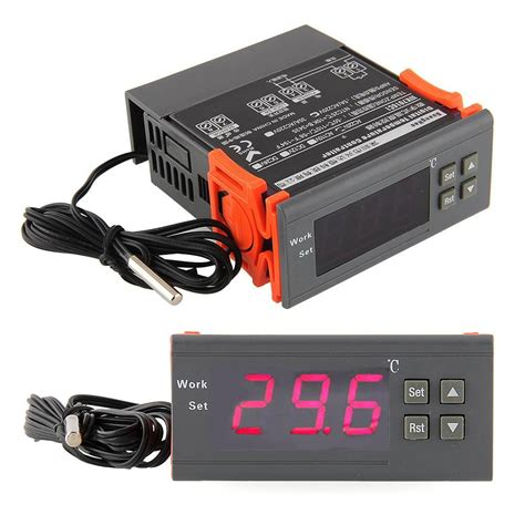 220v digital lcd display temp temperature controller thermostat w sensor lazada ph