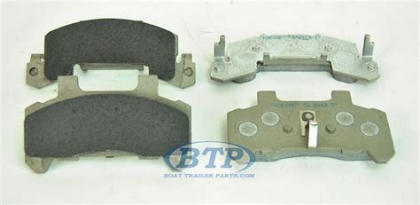 boat trailer disc brake pads kodiak boat trailer ceramic disc 225 brake pad stainless
