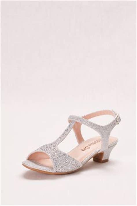 glitter t low heel sandal davids bridal