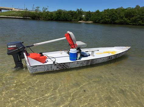 saltwater fishing boat plans skiff life s bateau sk14 build a lesson in skinny water