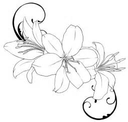 rose drawing outline clipart best