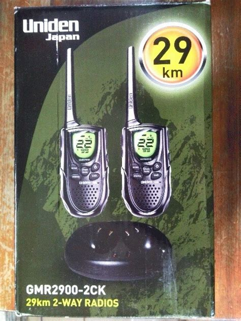 Walkie Talkie Uniden Gmr 2900 29kmo jual jual walkie talkie uniden gmr2900 2ck up to 29km