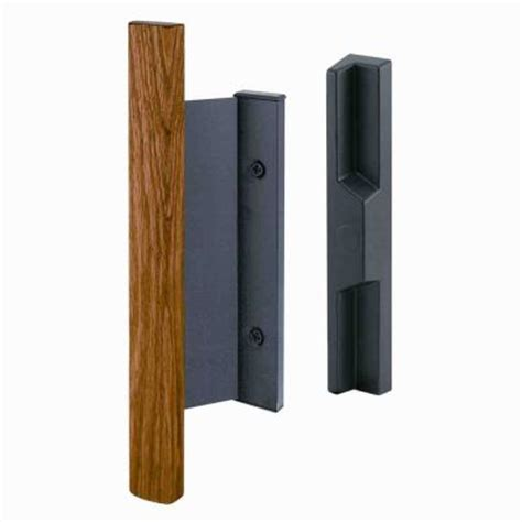 prime line surface mounted sliding glass door handle set c