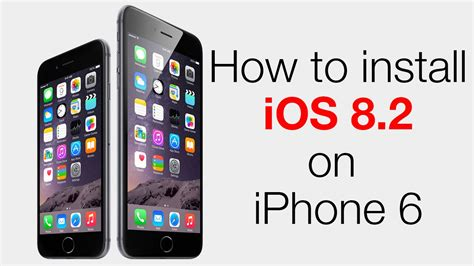 how to uninstall ios 6 update how to update iphone 6 to ios 8 2 youtube
