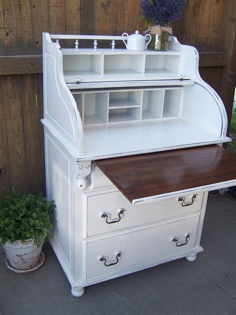 cottage charm creations adorable roll top desk dresser combo
