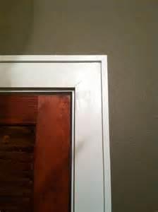 modern door trim easy door trim dream home pinterest