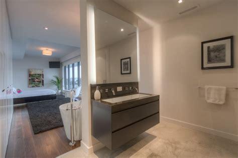 master bedroom with ensuite 500 wellington street west suite 801 furnished