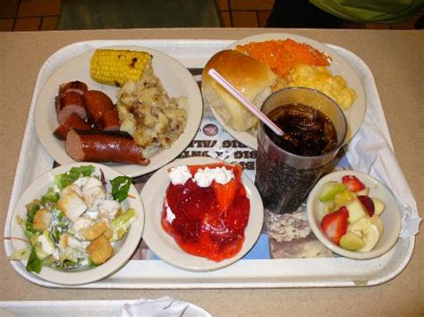 A Very Full Tray For A Single Price Picture Of Furr S Furrs Lunch Buffet Price