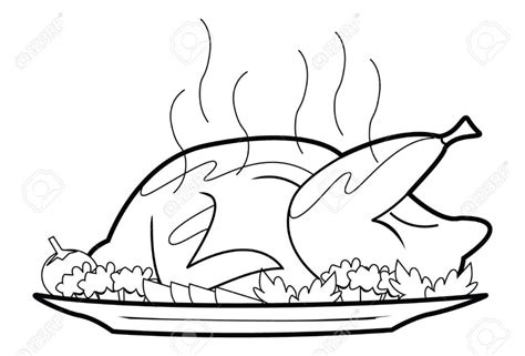 coloring pages copyright free meat coloring stock photos pictures royalty free roast