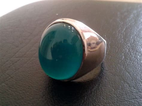 Bacan Bluish No 30 a green thread colored stones jewelry forum