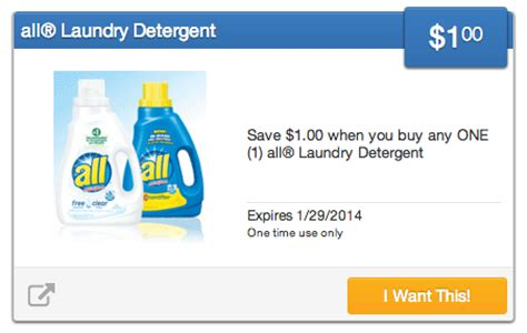 Web Deal 20 At Laundry by All Laundry Detergent Coupons 1 50 Cvs Deal