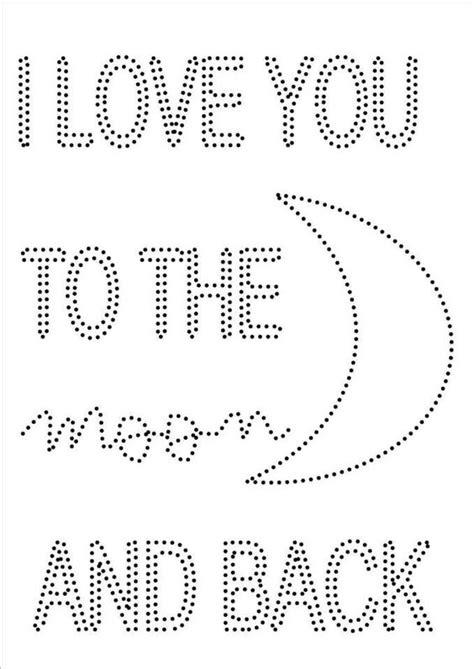printable art patterns hotfix kaarten borduren pinterest patronen de maan