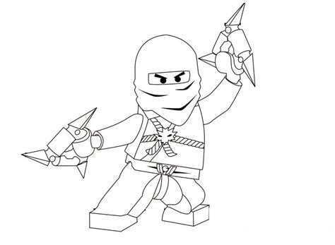 coloring page of ninja ninja pictures for kids az coloring pages