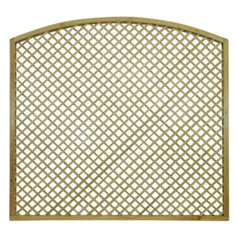 Curved Trellis Fence Panels Curved Lattice Flat Fence Panel Manningham Concrete