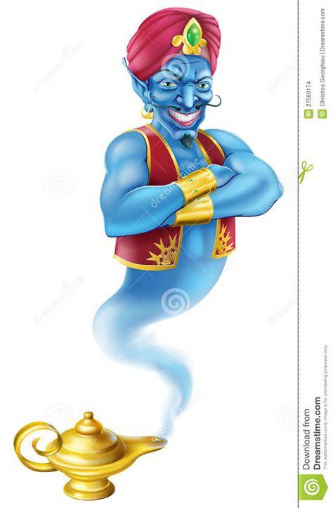 Genie L From by Le 224 P 233 Trole Mauvaise De G 233 Nie Et De Magie Images Stock