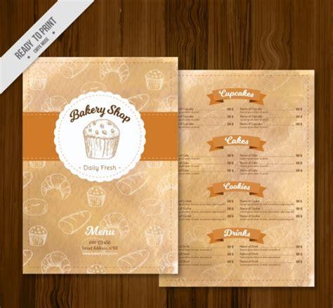 free bakery menu templates bakery menu template 25 free premium