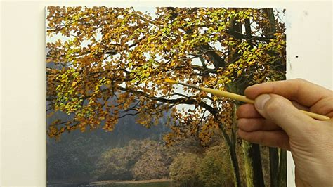 how to paint a l 49 how to paint an autumn tree painting tutorial