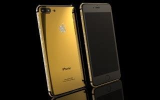 Ip7 Style gold iphone 7 collection luxury gifts 24k gold plating