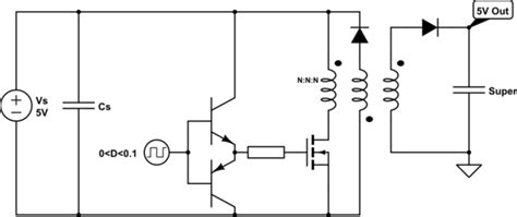 capacitor bank discharge circuit supercapacitor capacitor charge and discharge circuit electrical engineering stack