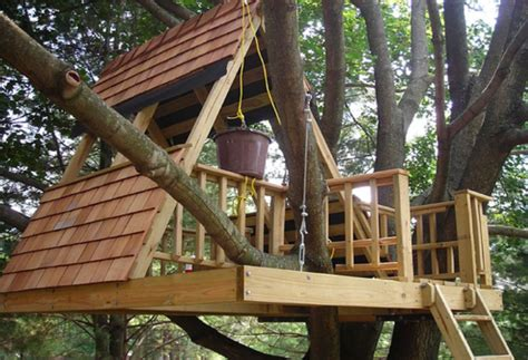 easy to build homes how to build a simple treehouse step by step