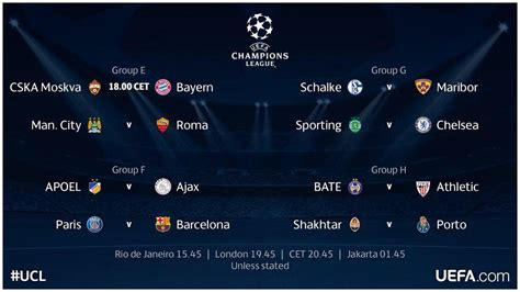 uefa soccer league matches today uefa chion matches today