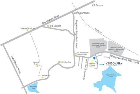 Versova Layout Cv Raman Nagar | versova sky location versova estates