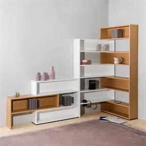 eckregal wohnzimmer flexibles eckregal roomido