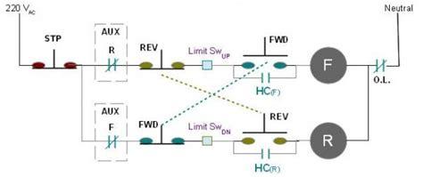 vdc limit switch wiring diagram