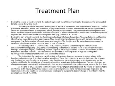 Detox Treatment Plan by Therapy Treatment Plan Template