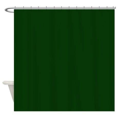 dark green curtain dark green shower curtain by poptopia1