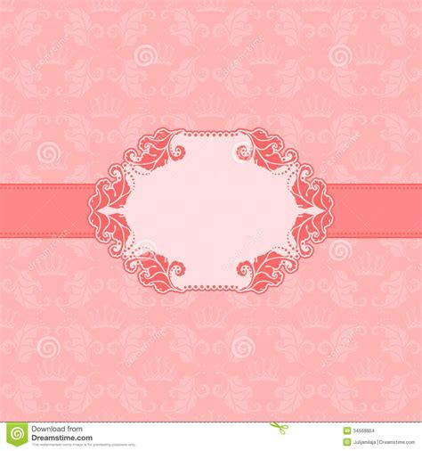 greeting card design templates template frame design for greeting card stock vector