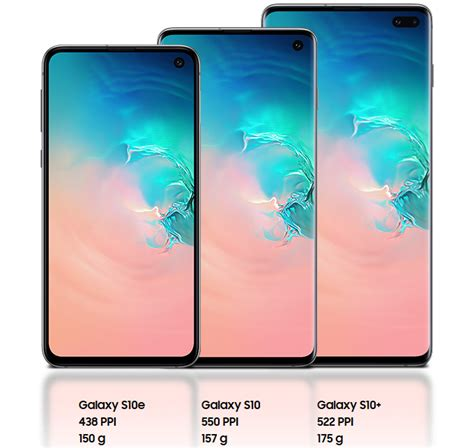 samsung galaxy s10 s10 and s10e prices see how much your favorite s10 model will cost