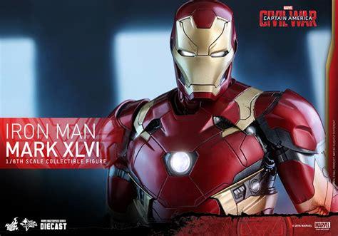 iron man dom iron man mark xlvi collectible figure coming soon