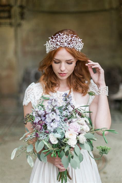 Vintage Wedding Hair Vines by Hermione Harbutt Nature Inspired Hair Vines And Delicate