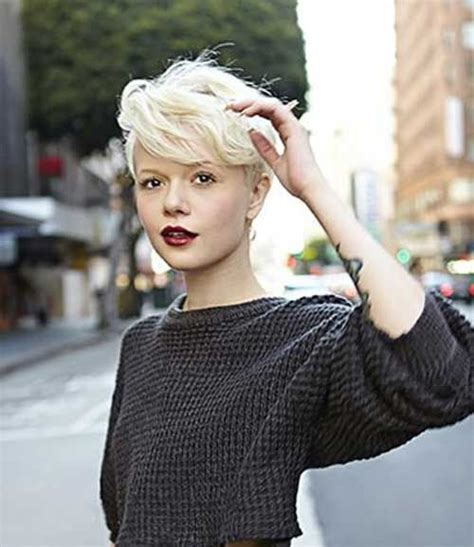 platinum pixie haircut for 42 year old best 25 very short hair ideas on pinterest super short