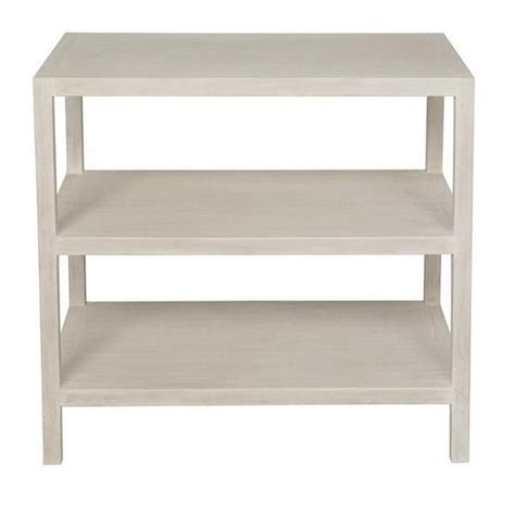 white side table with shelves 2 shelf side table white wash stanton home furnishings