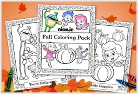 fall coloring pages nick jr 30 best images about printables on pinterest nick jr