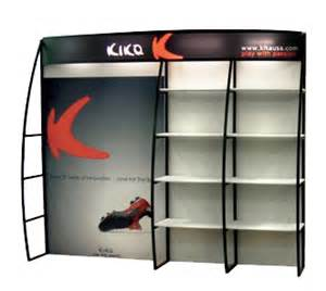 trade show display shelving portable trade show display shelf displays