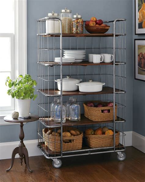 Rolling Pantry Rack by Best 25 Rolling Shelves Ideas On Shelf