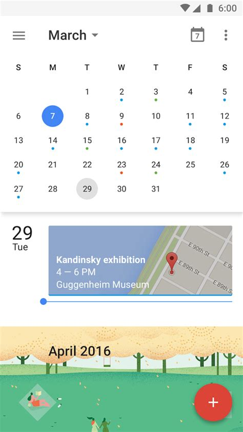 Android L Calendar Calendar Android Apps On Play