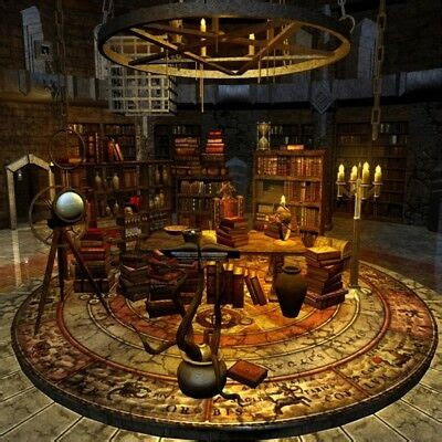 medieval ages library study photography background xft