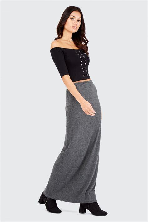 Maxi Jersey jersey basic maxi skirt s skirt select fashion