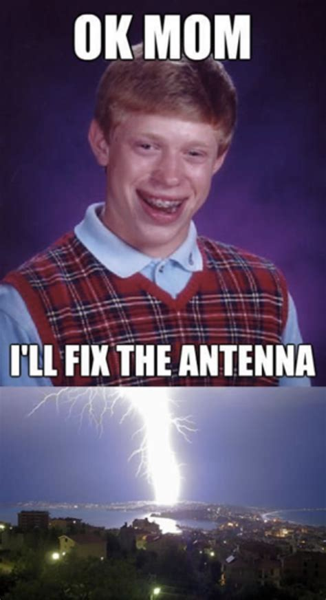 Good Luck Brian Meme - image 452400 bad luck brian know your meme
