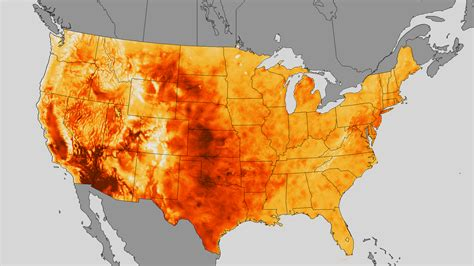 us weather heat map noaa weather map shows july heat wave environmental monitor