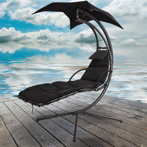 dream swing azuma dream chair swing hammock garden sun seat chair black