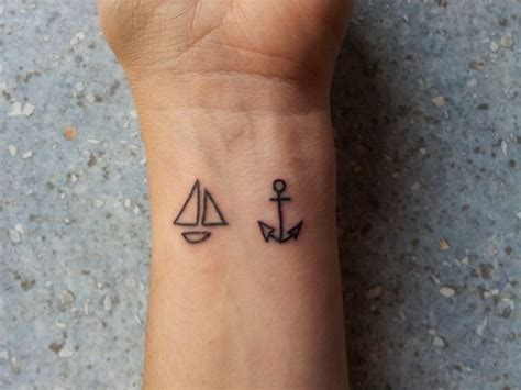 minimalist tattoo wrist tattoo tattoo 66 attractive anchor wrist tattoos design
