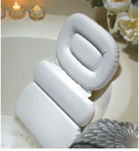 spa pillow for bathtub spa bath pillow in tub caddies and accessories